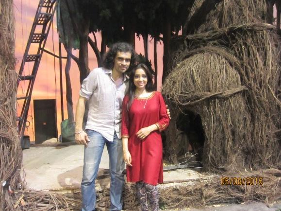 with Imtiaz Ali - film director of Tamasha
